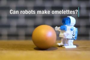 剑桥大学开发可熟练掌握煎蛋制作技能的机器人厨师