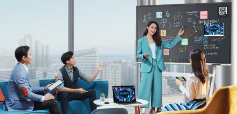 """颜值实力兼具, MAXHUB V5时尚版智能会议平板强势圈粉""""年轻化""""人群"""