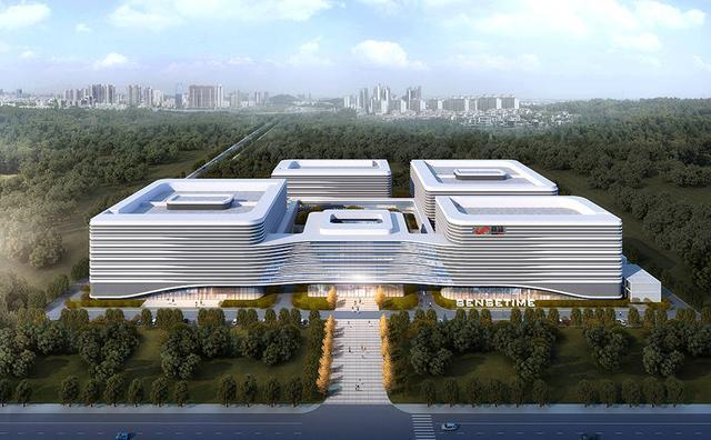 """投资40亿,商汤科技AI超算中心建筑形如""""芯片"""""""