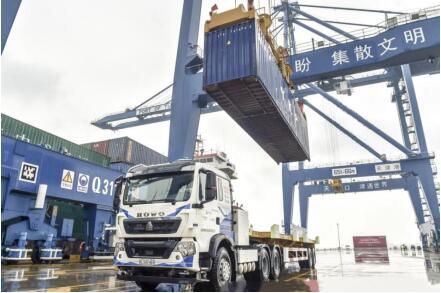 国庆献礼!中兴通讯助力天津港5G自动化示范区实船系统测试