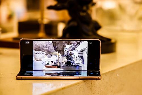 走进广州,三星Galaxy Z Fold2 5G再度绽放自身魅力