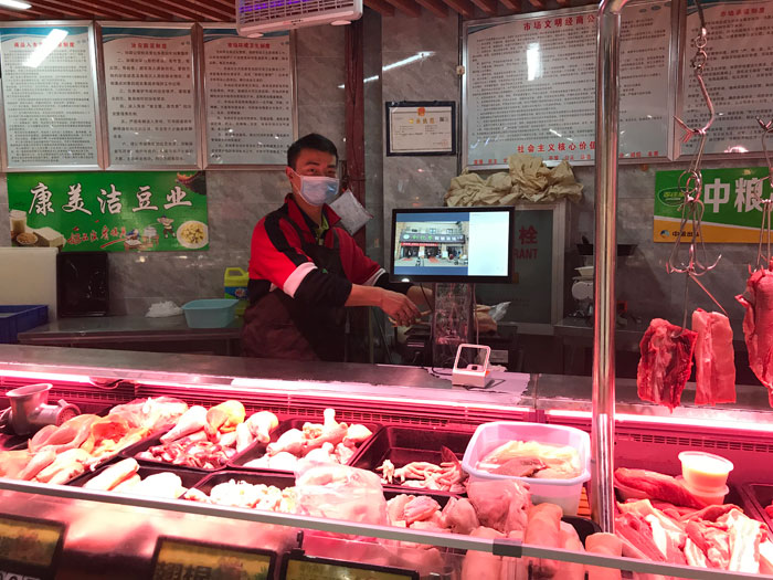 湖北武汉:农贸市场华丽转身 信息化筑牢防疫安全防线