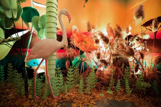 vivo S7创意摄影展,把动物搬到丛林里,太沉浸!