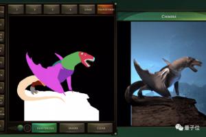 谷歌上线AI新玩法:随手乱涂鸦,一键变怪兽
