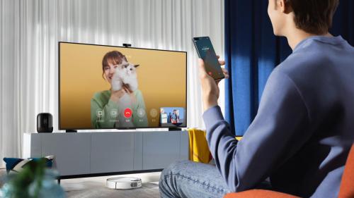 影音强悍 智慧实力爆表 华为智慧屏 S系列重磅发布