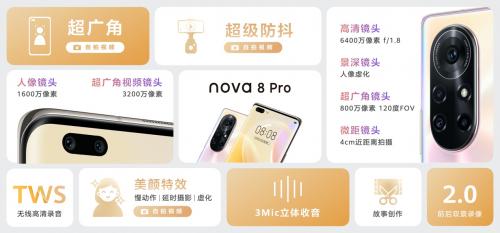 展现Z世代活力!华为nova8系列专业Vlog手机助力记录青春