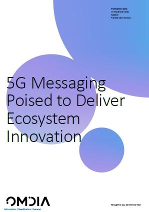 中兴通讯和Omdia联合发布《5G消息推动生态系统创新》白皮书