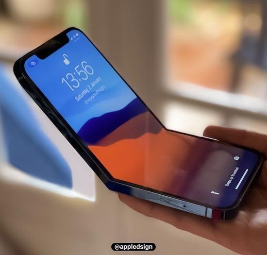 苹果被指已开始在工厂测试折叠屏iPhone