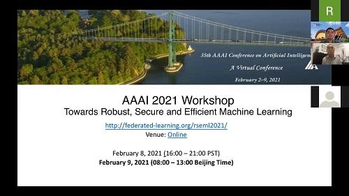 AAAI 2021闭幕,健壮、安全、高效的机器学习国际研讨会压轴举行