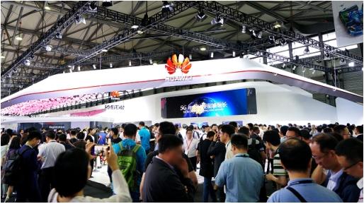 上海移动携手华为发布全球首个5G室内4.9GHz商用网络,载波聚合下峰值速率3.2Gbps