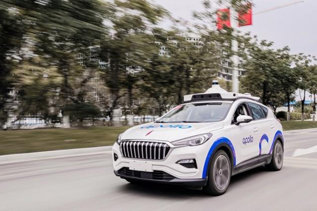 百度自动驾驶车型亮相广州 市民可以亲身体验