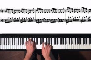 科学家设计AI系统从无声钢琴演奏视频中再现演奏声音
