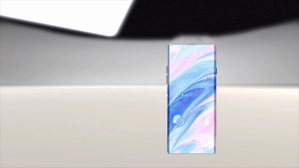 华为Mate 50 Pro概念图:八边形4镜头+瀑布真全屏,配立体边框机身