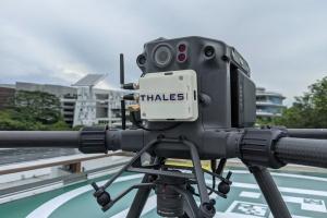 泰雷兹和H3 Dynamics完成实时自主无人机飞行监控系统测试