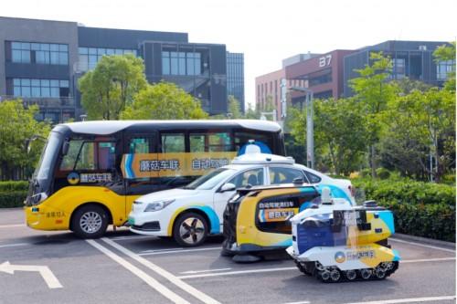进入城市主干道,蘑菇车联自动驾驶全面助力碳中和
