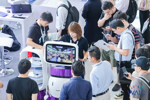 2021世界人工智能大会圆满落幕 擎朗机器人助力产业智能化转型