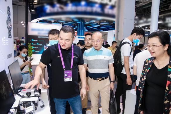 世界人工智能大会2021优必选科技钟永:AI变革,教育先行