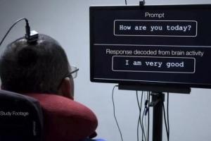 全球首创!美研究人员将瘫痪男子脑电波转化成文字