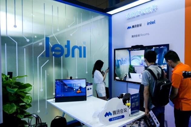 英特尔携手生态伙伴亮相InfoComm,赋能协作办公迈向智能时代