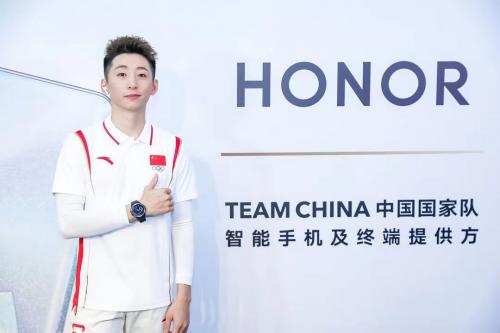 荣耀高科技产品助力TEAM CHINA中国国家队出征 向世界展示中国名片